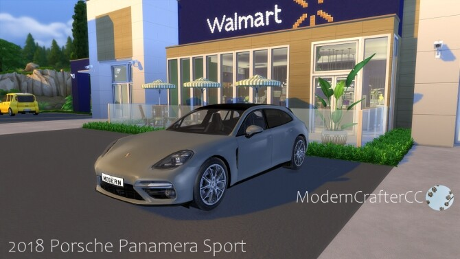 2018 Porsche Panamera Sport Turismo at Modern Crafter CC image 2391 670x377 Sims 4 Updates