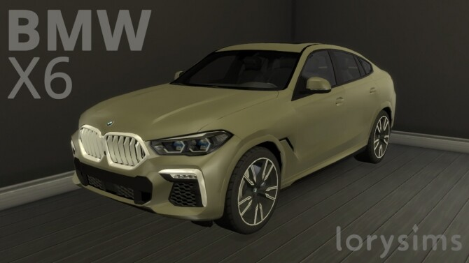 BMW X6 by LorySims