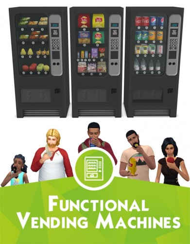 Functional vending machines