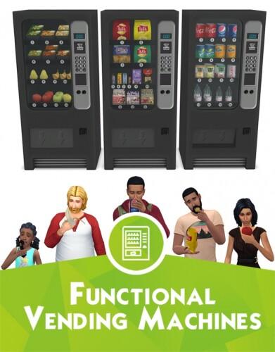 Functional vending machines