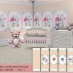 Teddy Bear Nursery Walls by marcorse