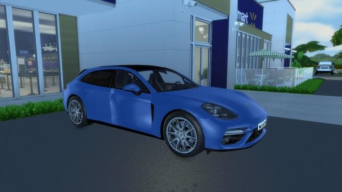 Sims 4 2018 Porsche Panamera Sport Turismo at Modern Crafter CC