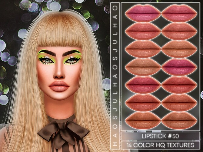 Sims 4 LIPSTICK #50 by Jul Haos at TSR