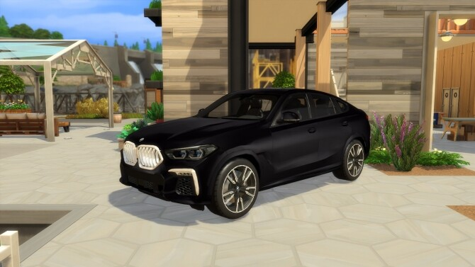 Sims 4 BMW X6 at LorySims