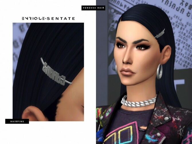 Sims 4 ENRIQUE X SENTATE 2020 collection