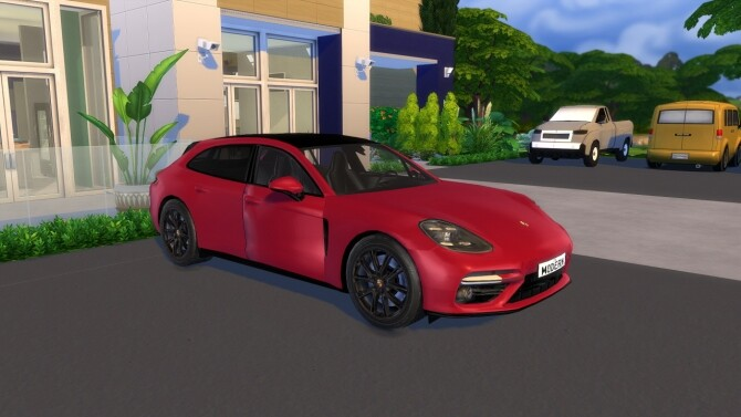 2018 Porsche Panamera Sport Turismo at Modern Crafter CC image 2441 670x377 Sims 4 Updates