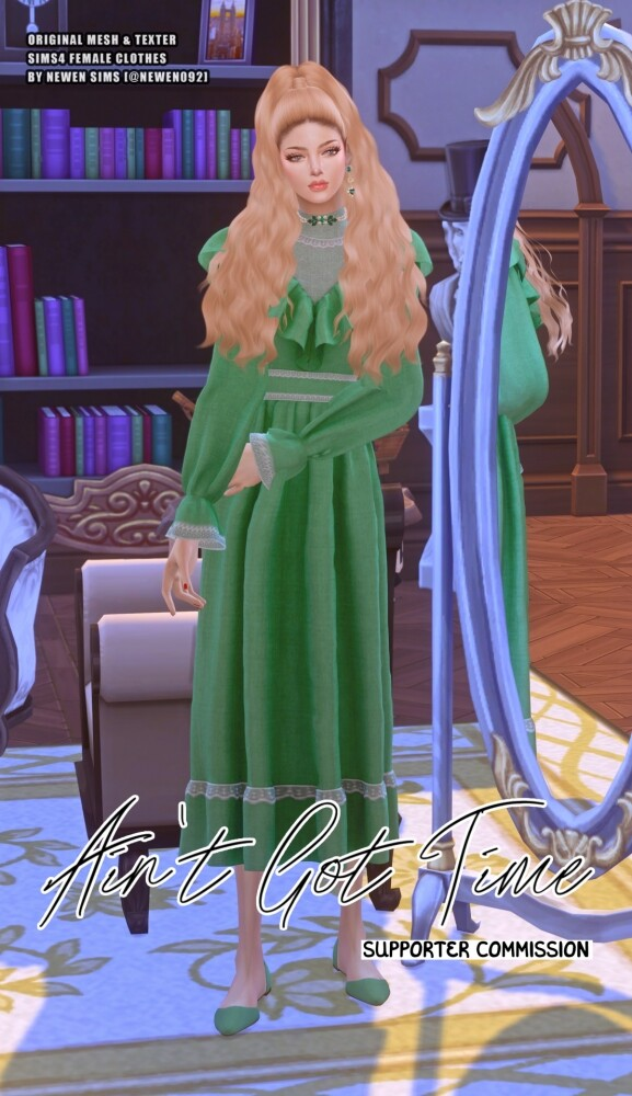 Aint Got Time Dresses at NEWEN image 2494 577x1000 Sims 4 Updates