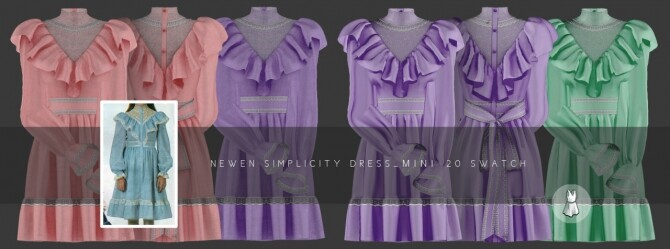 Aint Got Time Dresses at NEWEN image 25111 670x249 Sims 4 Updates