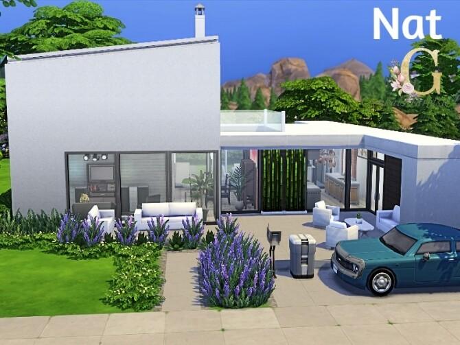 Sims 4 Nat house by GenkaiHaretsu at TSR
