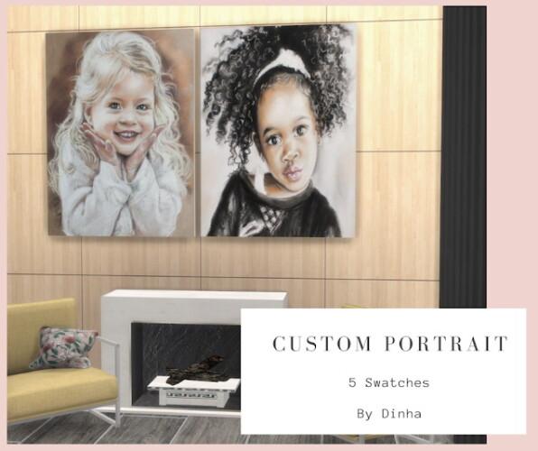 Custom Portrait N 2 5 Swatches