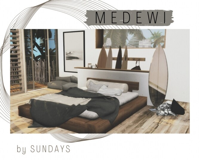 Sims 4 MEDEWI SET at Sundays Sims