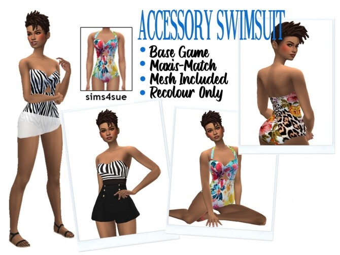 ACCESSORY SWIMSUIT at Sims4Sue image 2601 670x503 Sims 4 Updates