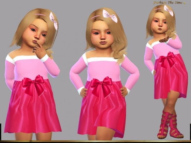 Sims 4 Dress Sleeping beauty by LYLLYAN at TSR