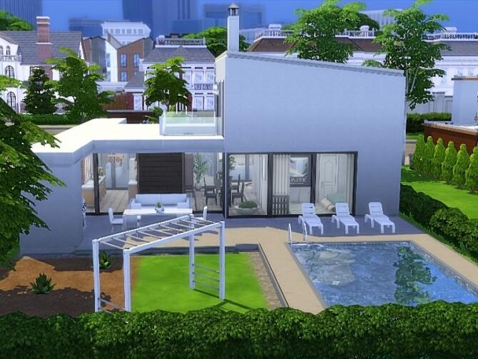 Nat house by GenkaiHaretsu at TSR image 268 670x503 Sims 4 Updates