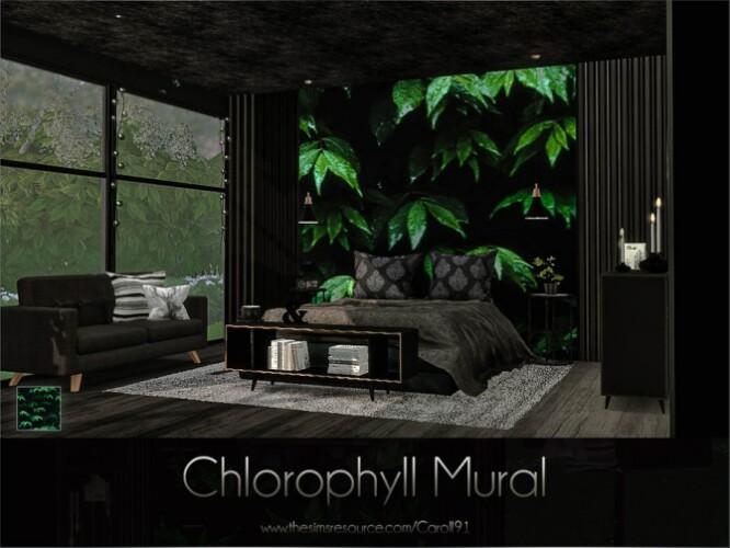 Chlorophyll Mural by Caroll91