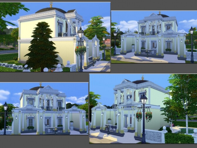 Sims 4 MB Pomp and Circumstance home by matomibotaki at TSR