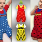 Toddler Superhero Dungaree by Pelineldis