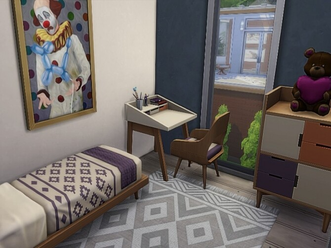 Nat house by GenkaiHaretsu at TSR image 276 670x503 Sims 4 Updates