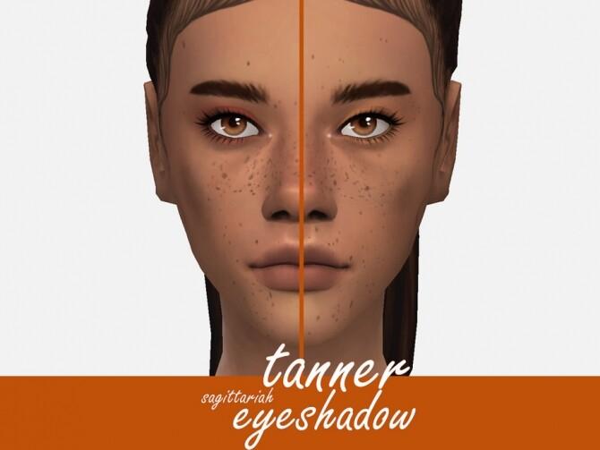 Sims 4 Tanner Eyeshadow by Sagittariah at TSR