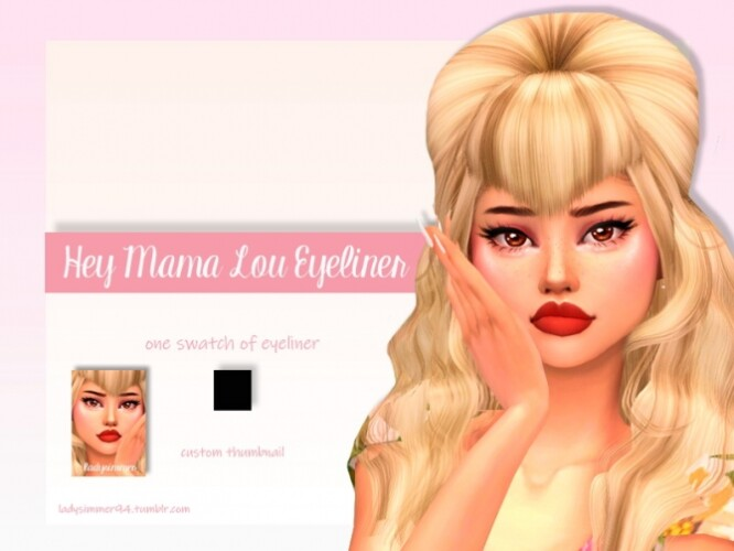 Hey Mama Lou Eyeliner by LadySimmer94