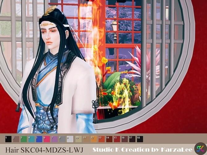 Sims 4 Hair SKC04 MDZS LWJ at Studio K Creation