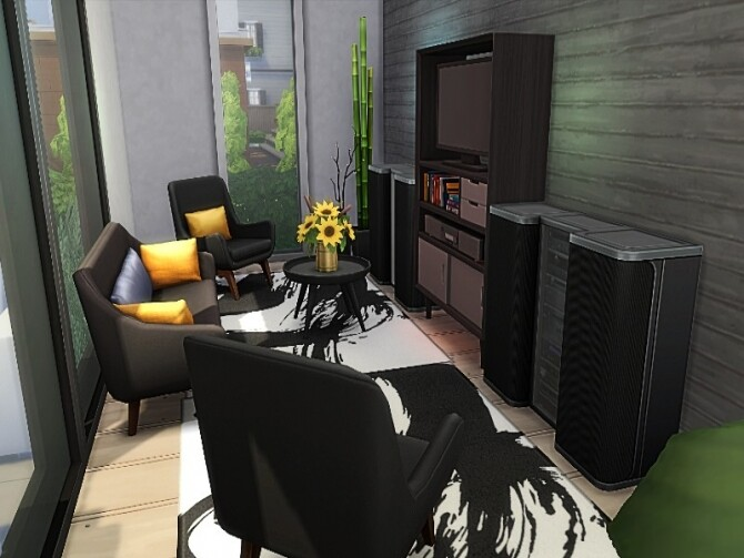Nat house by GenkaiHaretsu at TSR image 286 670x503 Sims 4 Updates