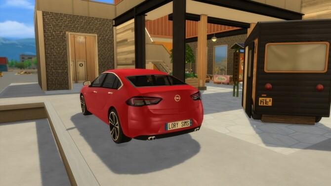 Opel Insignia GS at LorySims image 2871 670x377 Sims 4 Updates