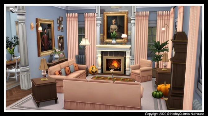 Fairchild Manor at Harley Quinn's Nuthouse image 2921 670x375 Sims 4 Updates