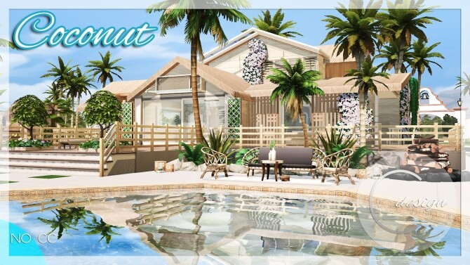 Coconut Home at Cross Design image 2952 670x377 Sims 4 Updates