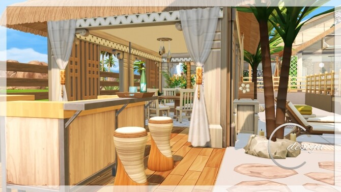 Coconut Home at Cross Design image 2972 670x377 Sims 4 Updates