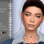 Mid Modern Earrings by PlayersWonderland