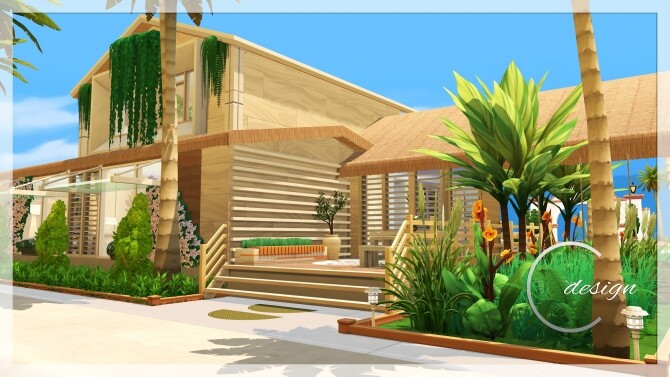 Coconut Home at Cross Design image 2982 670x377 Sims 4 Updates