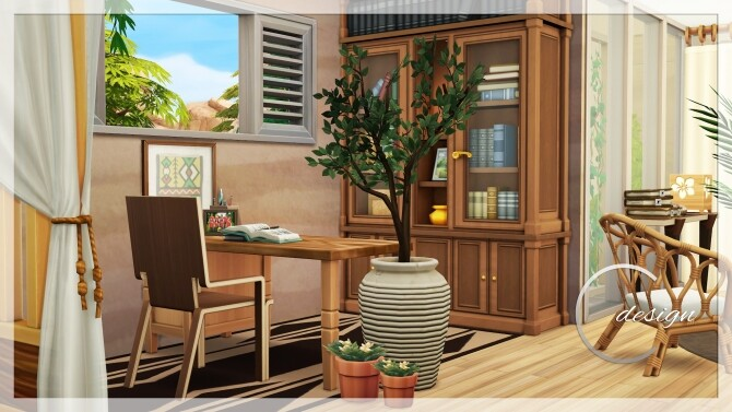Coconut Home at Cross Design image 2992 670x377 Sims 4 Updates