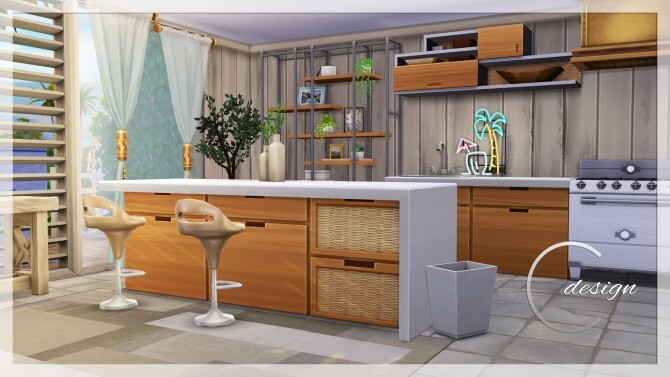 Coconut Home at Cross Design image 3001 670x377 Sims 4 Updates