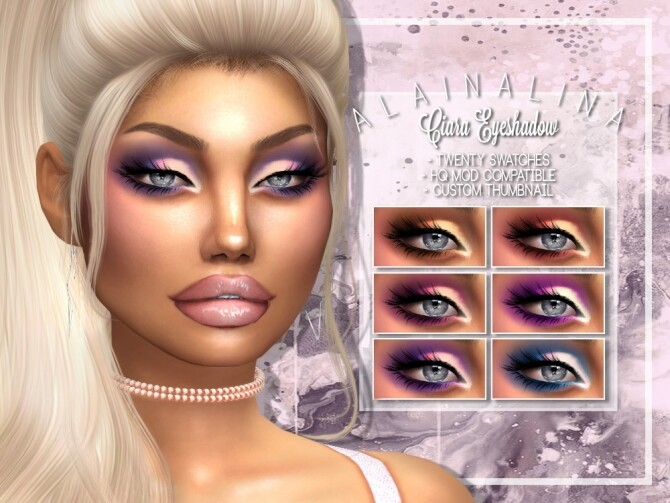 Ciara Eyeshadow at AlainaLina image 3011 670x503 Sims 4 Updates