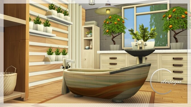 Coconut Home at Cross Design image 30110 670x377 Sims 4 Updates