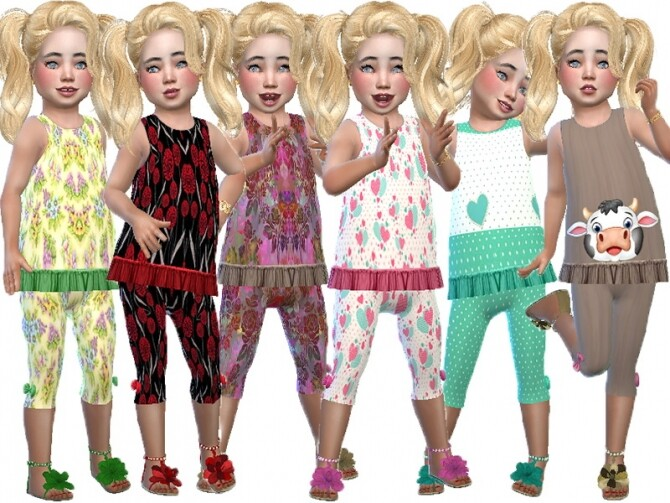 PP frill pants set by TrudieOpp at TSR image 302 670x503 Sims 4 Updates