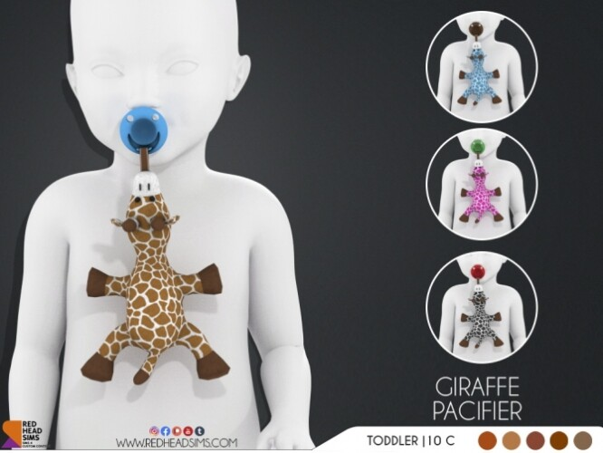 GIRAFFE PACIFIER BABY BOTTLE DEFAULT