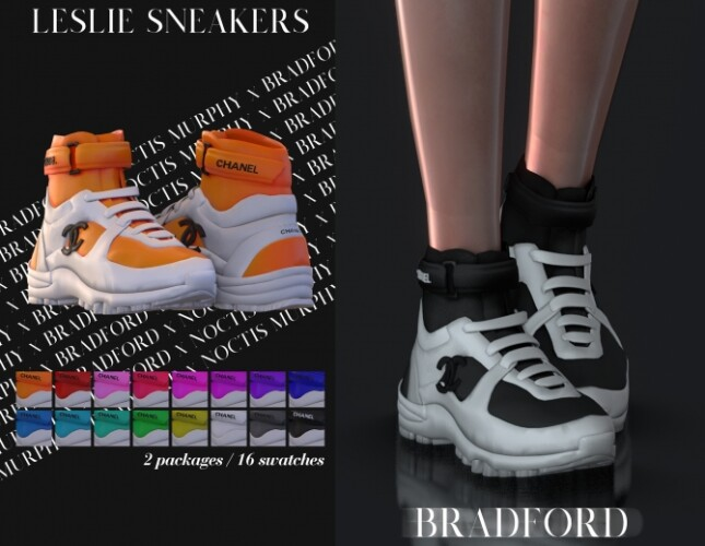 Leslie Sneakers by Silence Bradford