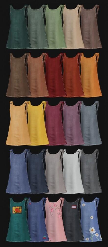 Mara Dress + Tights at Daisy Pixels image 3092 440x1000 Sims 4 Updates