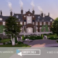 Villain Mansion by SIMSBYLINEA