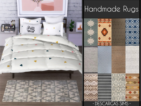 Sims 4 Handmade Rugs at Descargas Sims
