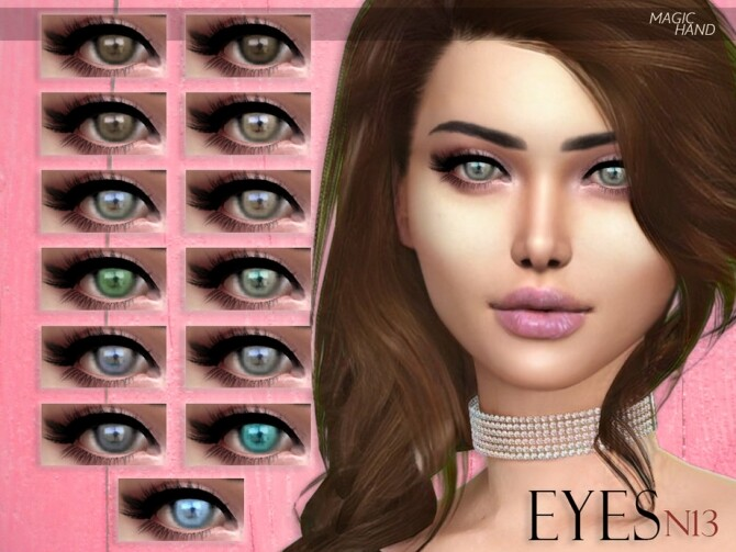 Sims 4 Eyes N13 by MagicHand at TSR