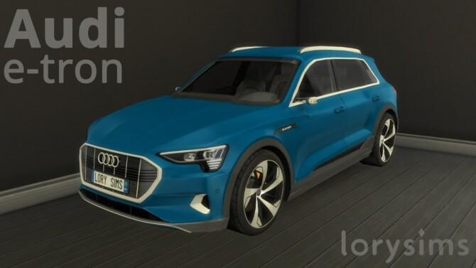 Audi e-tron by LorySims