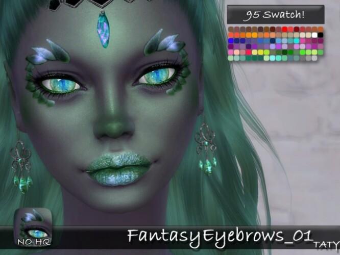 Fantasy Eyebrows 01 by tatygagg