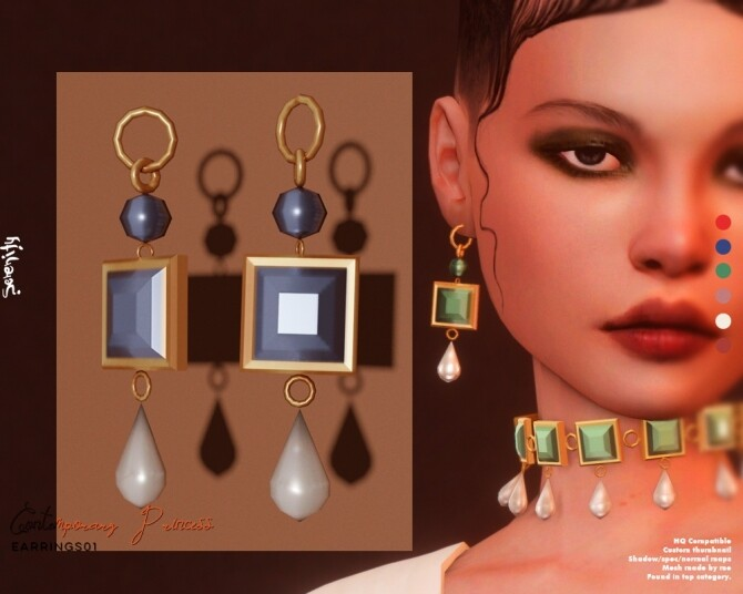 Contemporary Princess Collection: Clothes & Jewelries at SERENITY image 3214 670x536 Sims 4 Updates