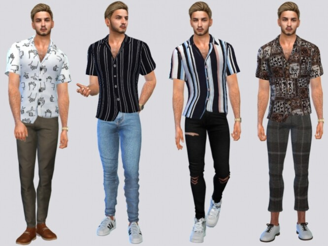 Smyth Casual Shirts by McLayneSims