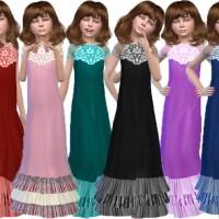Dodo long dress by TrudieOpp