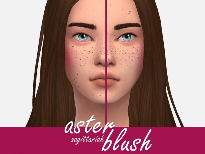 Sims 4 Aster Blush by Sagittariah at TSR