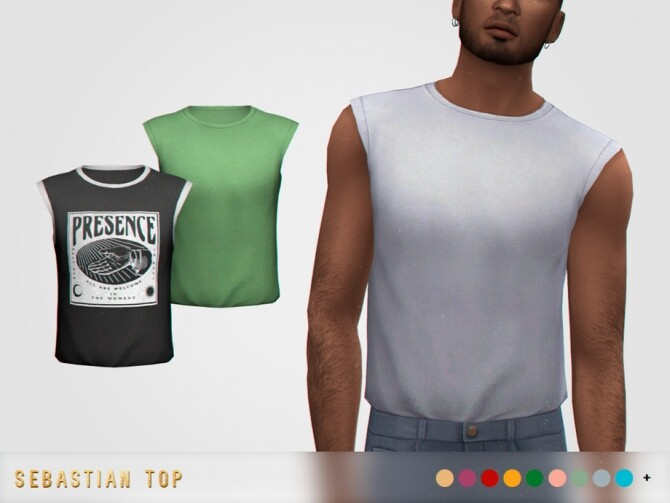 Sebastian Top by pixelette at TSR image 323 670x503 Sims 4 Updates